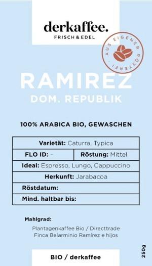 Ramirez Estate Bio direct trade
