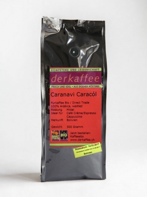 Caranavi Caracol Bolivien Perlbohnen Bio Direct Trade