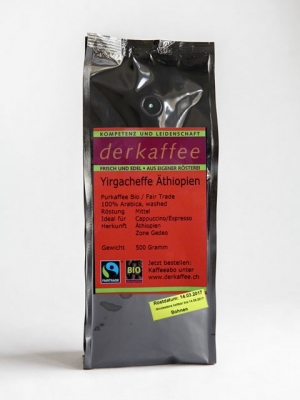 Yirgacheffe Bio/Fairtrade